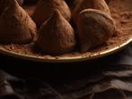 Шоколадови трюфели с крема сирене