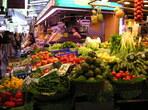 На кулинарен пазар в Барселона