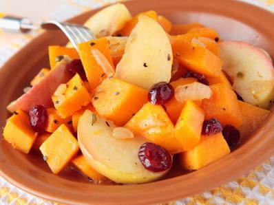 Мангафиш (задушена тиква с плодове)