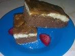 Шоколадов сладкиш с грис и кокос