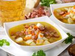 Бирена супа с наденица
