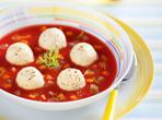 Супа с рибни кюфтенца