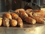 Печени сладки картофи с карамелизиран лук