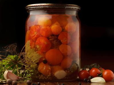 Туршия от чери домати