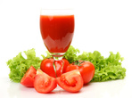Сок от домати и репички