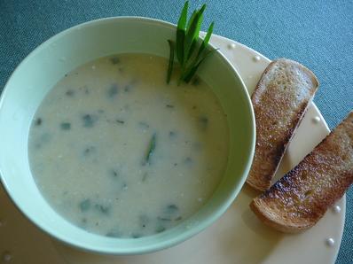 Крем супа с естрагон