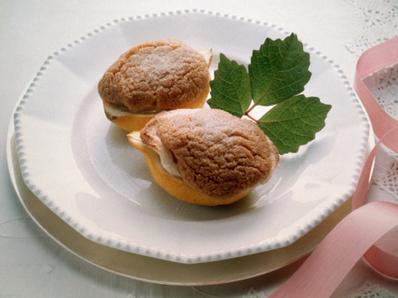 Лимони, пълнени с домашен марципан
