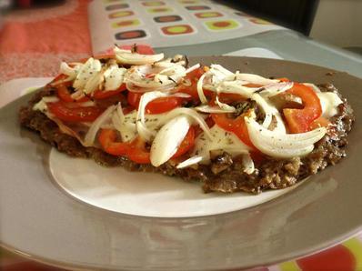 Пица без тесто