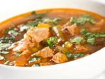 Люта супа със свинско месо