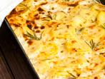 """Картофи със сирене """"Ементал"""""""