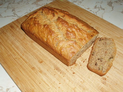 Сладък хляб с банани