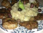 Филе от треска със зеленчуково пюре
