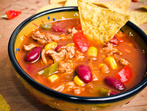 """Мексиканска супа """"Начос"""""""