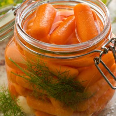 Туршия от бейби моркови