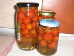 Чери доматчета в буркан