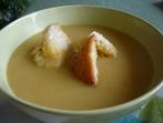 Крем супа с жълт боб