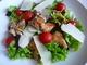 Зелена салата с пилешко бон филе