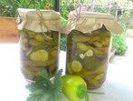 Пикантни краставички с чорбаджийски чушки