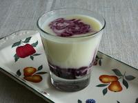 Млечен крем с боровинки