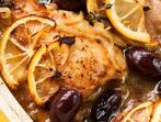 Пилешко с лимон и маслини