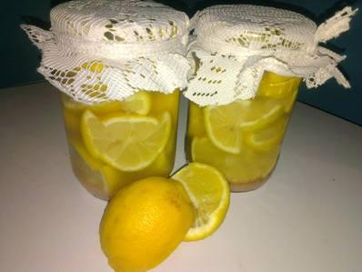Лимони конфи