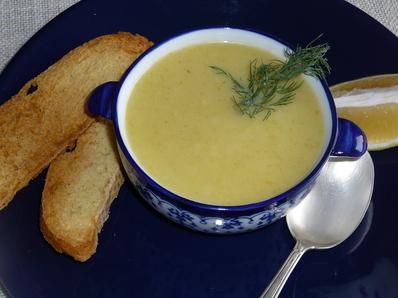 Диетична крем супа
