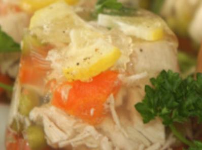 Желирано пилешко блюдо