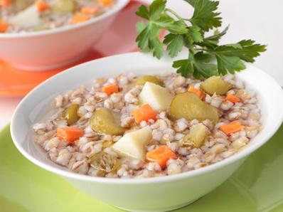 Супа с ечемик
