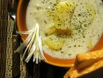 Супа с печени картофи и бекон