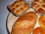 Видове тесто: За хляб, малки питки, милинки
