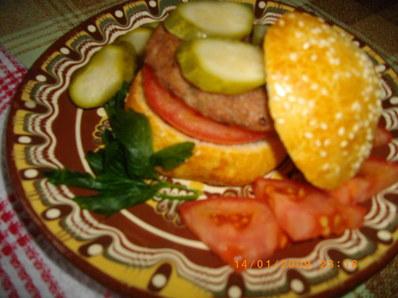 Вкусни питки за хамбургери
