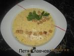 Кашкавалена супа