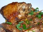 Пиле с манатарки