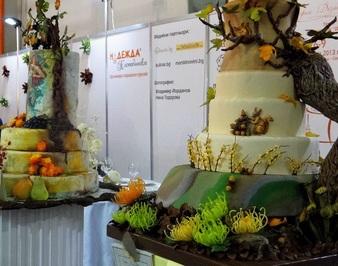 Дизайнерските торти на есенната прелюдия