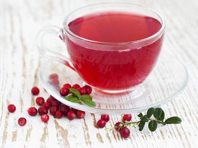 Ароматен чай от червена боровинка
