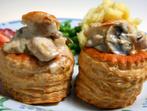 Картофи, пълнени с гъби