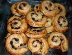 Сладки охлювчета с готово тесто