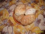 Хлебчета от три вида брашно