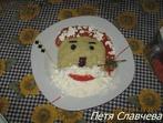 Дядо Коледа от картофено пюре