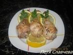 Пържени пилешки бутчета с кокос