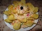 Зеленчукова салата с майонеза