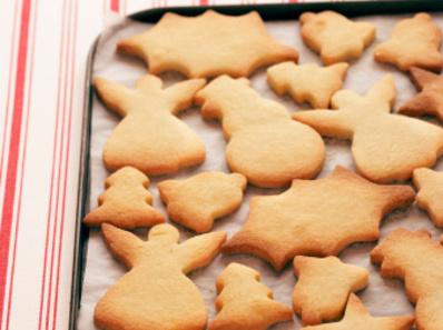 Лесни коледни бисквити
