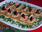 Хапки с рибен пастет