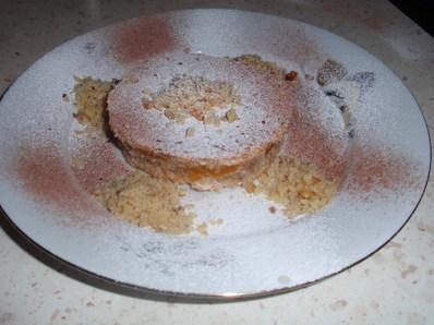 Коледно сладкишче с орехи и сушени кайсии