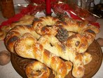 Коледарски гевреци (колачета)