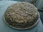 Торта с ванилов крем