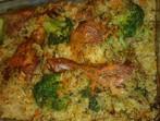 Пилешко с ориз и зеленчуци на фурна