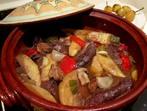 Наденица със зеленчуци