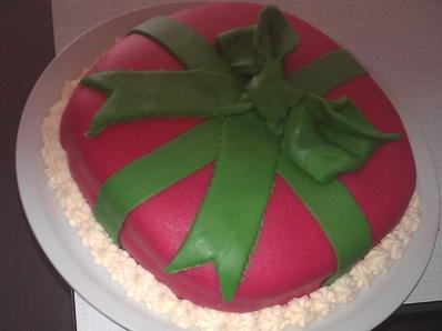 """Торта """"Коледно вълшебство"""""""