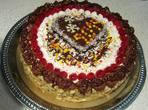 Шахматна празнична торта